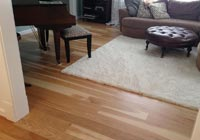 Clear Hickory prefinished