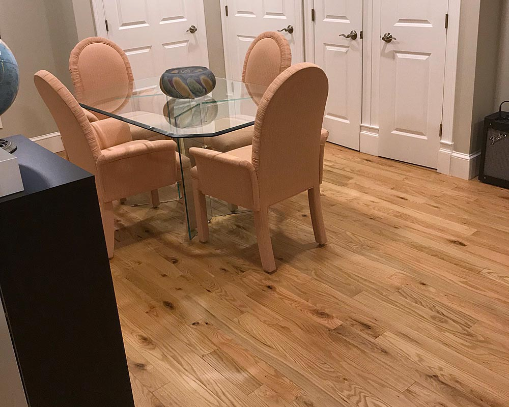 Character red oak