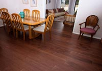Dining room, reddish brown Hickory