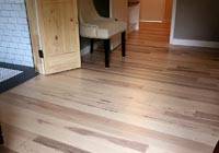 Sandy, light tan brown Hickory character