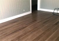 Medium brown ceruse white oak