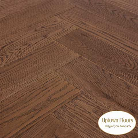 Antique Walnut herringbone