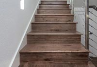 hardwood risers and stair treads