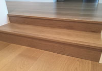 eased edge stair treads
