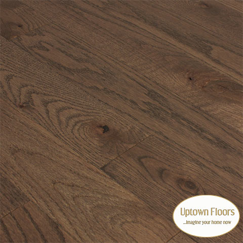 Brown, grey red oak character