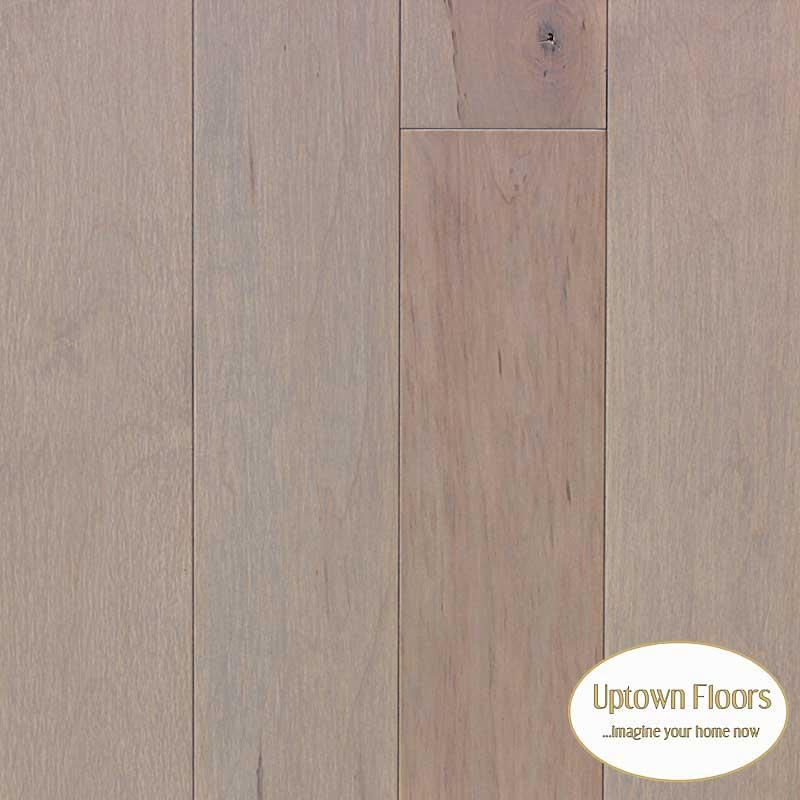 New Gray Stained Maple Floors: Medium Gray Maple Hardwood
