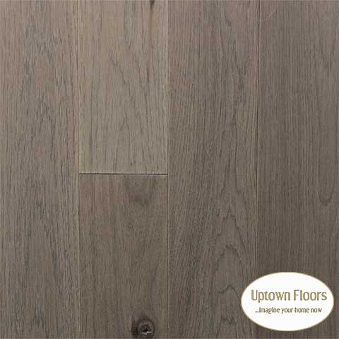 Greige color wire brushed Hickory