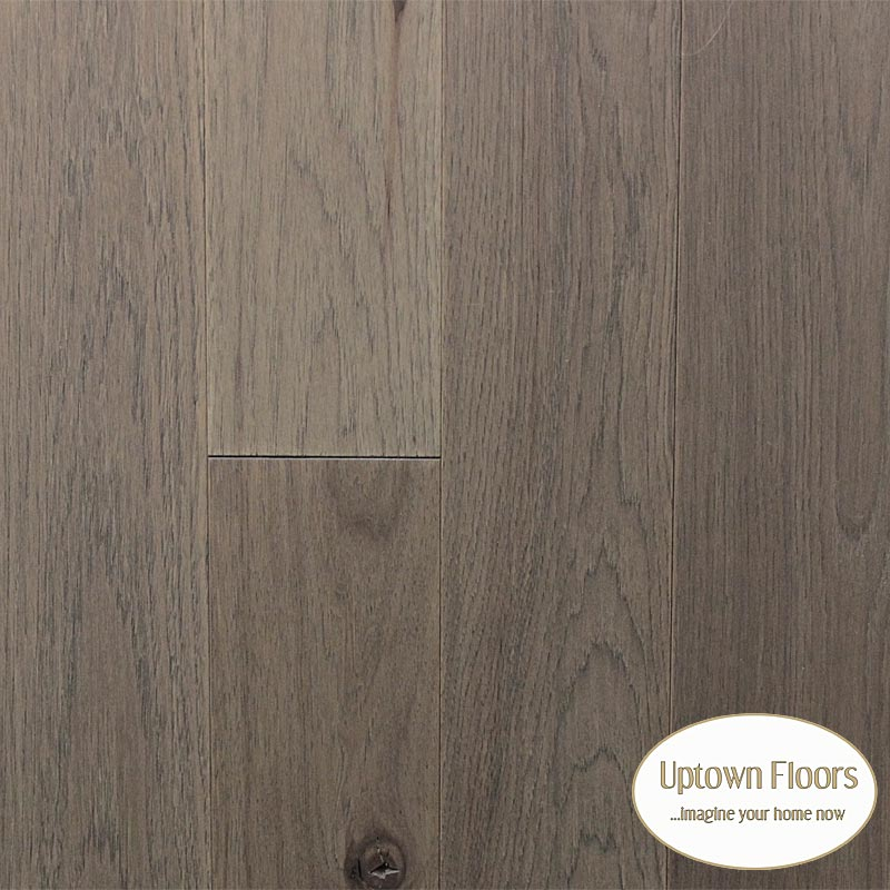 Greige weathered color wire brushed Hickory