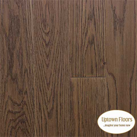Dark brown white oak wire bushed