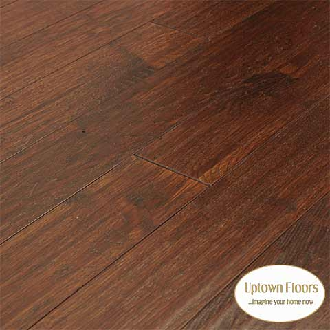 Reddish Brown stained Hickory