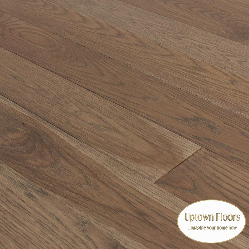 Caramel Color Wire Brushed Hickory Hardwood