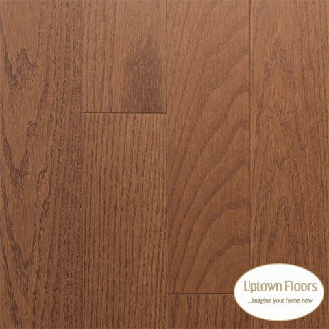 Medium brown clear red oak