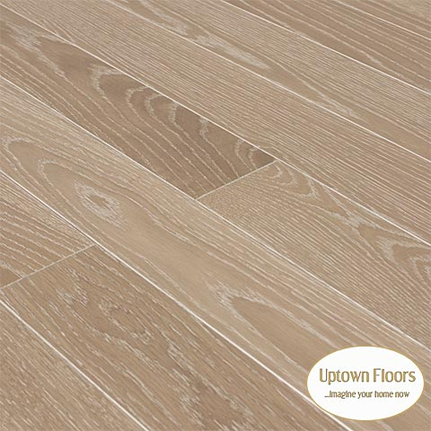 Beige cerused White Oak Clear
