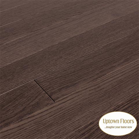 Black, brown wire brushed white oak