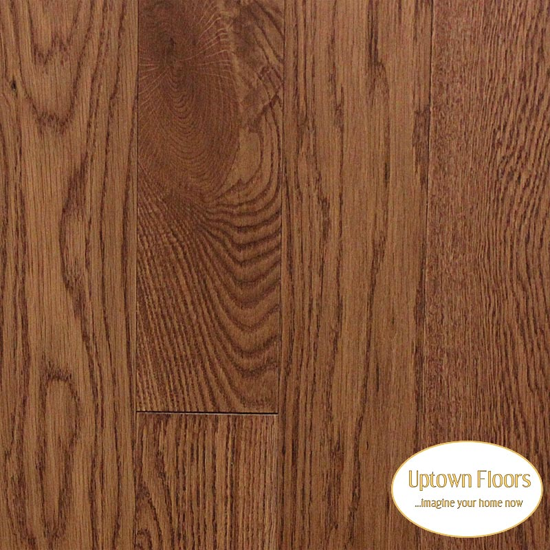 Rich Brown wire brushed white oak