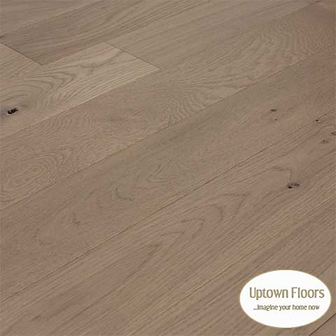 Grey, beige wire brushed white oak