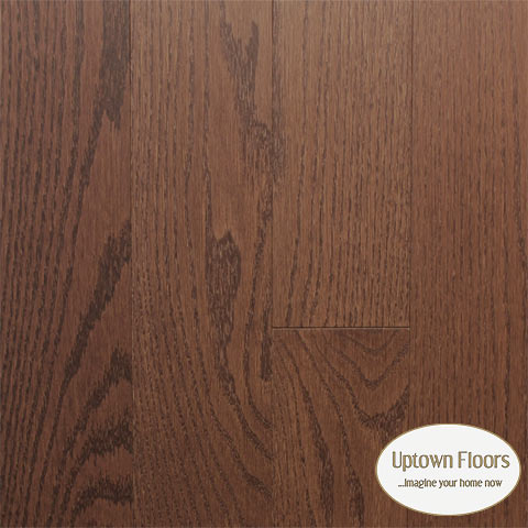 Rich brown red oak
