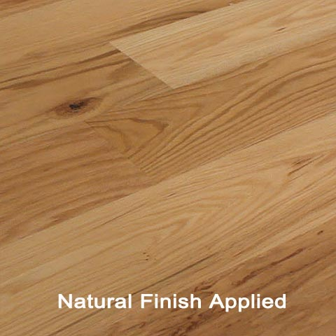 Unfinished Engineered Red Oak Character hardwood