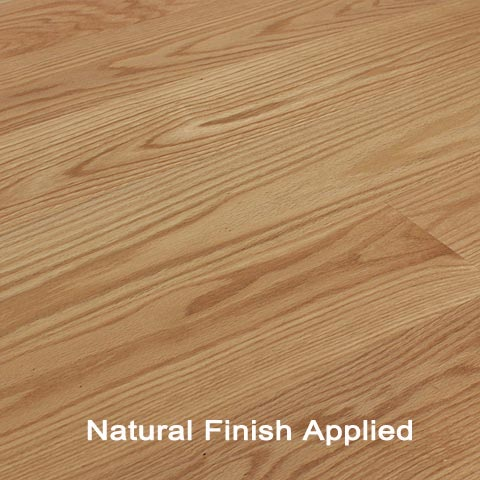 Unfinished Engineered Red Oak Clear hardwood