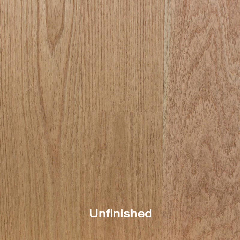 Unfinished engineered red oak clear hardwood flooring for Unfinished oak flooring