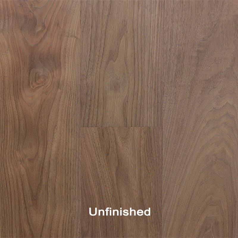 Unfinished engineered walnut clear hardwood flooring usa for Unfinished walnut flooring