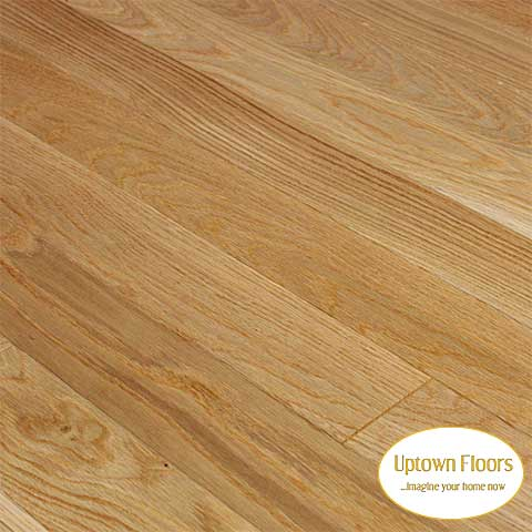 Clear White Oak 3/4 inch engineered