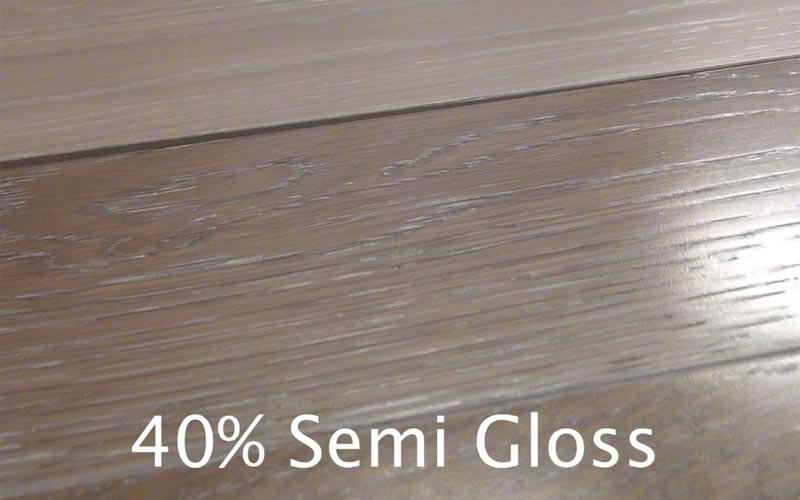 Gloss satin matte hardwood floor finishes comparisons for Wood floor finishes