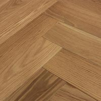 White Oak Clear Herringbone