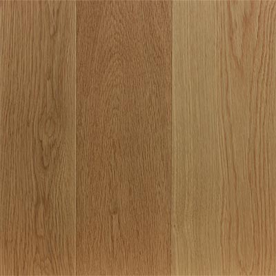 white oak clear random width engineered