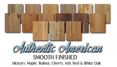 American hardwood floors