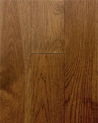 Rich brown Hickory Hardwood