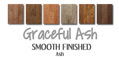 Ash hardwood floors