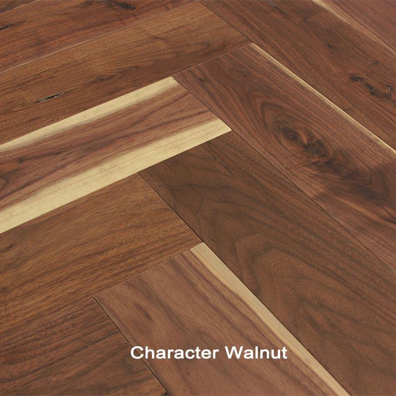 Walnut Character Herringbone