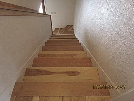 Matching Stair Treads Hardwood Floors Amp Other Millwork