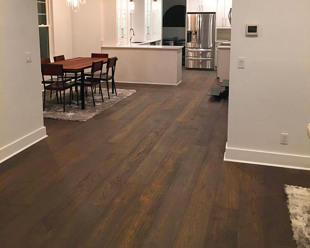 unfinished engineered hardwood flooring - 6 mm wear layer - usa made