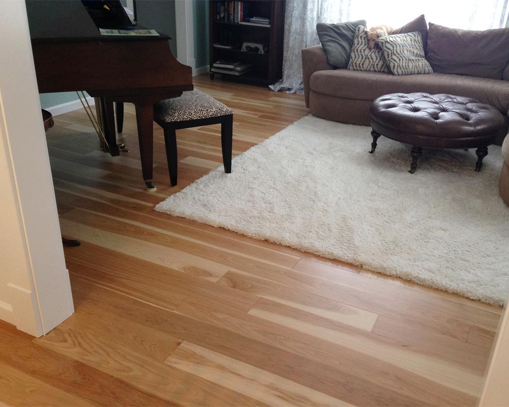 Glue down engineered hardwood floor on concrete hickory gluedown hardwood floor dailygadgetfo Images