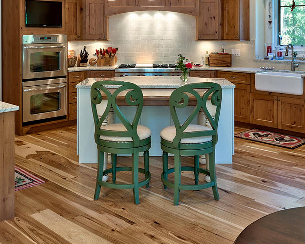 Character Hickory 7 inch wide  engineered plank