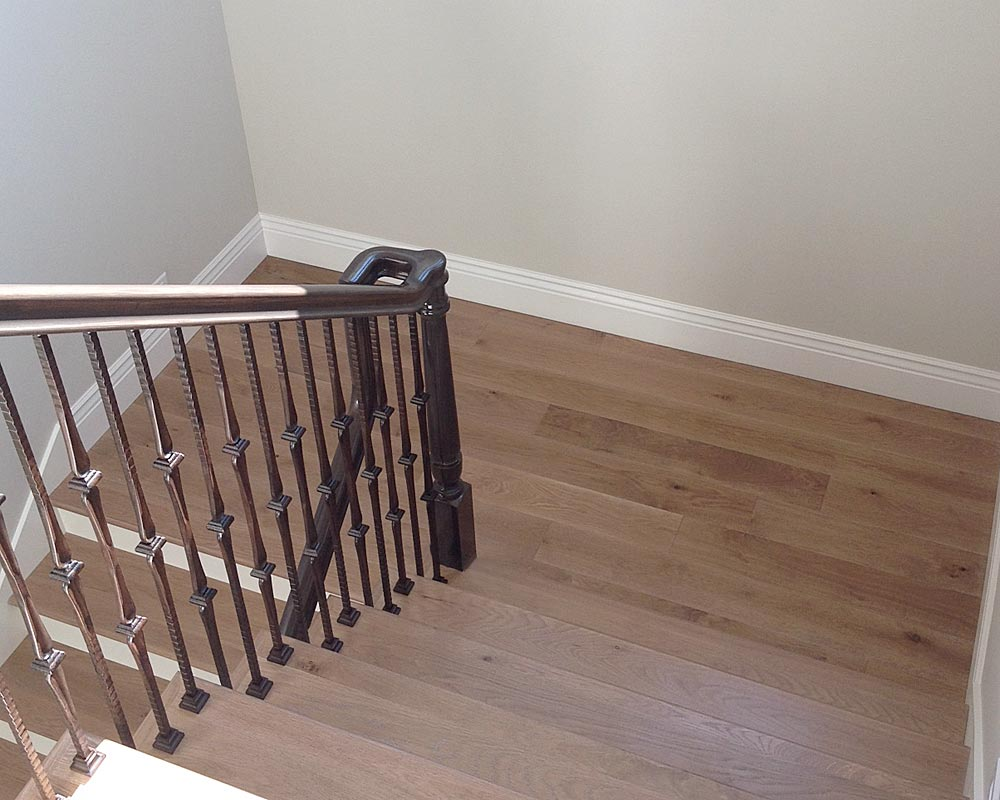 Color Matched Stair Treads