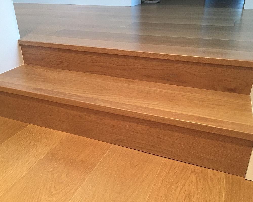 Matching Stair Treads Hardwood Floors