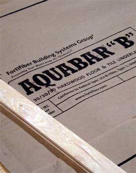Hardwood Floor Underlayment wood flooring underlayment wb designs Aquabar B Hardwood Flooring Underlayment