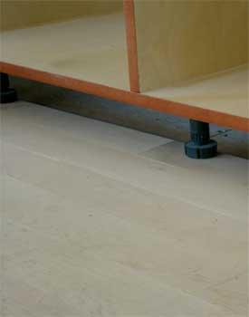 Do You Install Hardwood Floors Under Kitchen Cabinets - Kitchen
