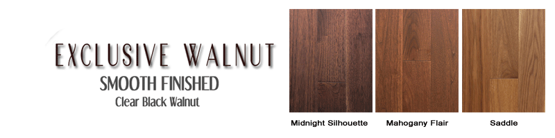 Clear Black Walnut
