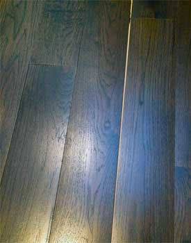 Panelization and crowned hardwood floor