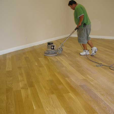 Finishing floor