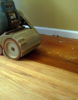 Hardwood Floor Wax wood floor finishes Sanding Old Wax From Floor