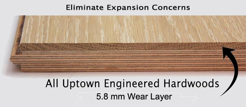 Best place to engineered hardwood flooring floors for Wood floor expansion gap