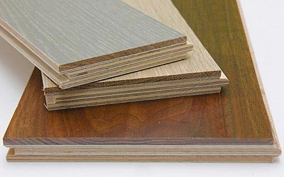 Thick wear layer Engineered hardwoods