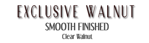 Clear black Walnut engineered hardwood floors