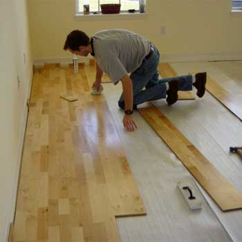 Installing Floating Hardwood Floors