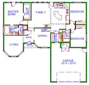 Floor plan to measure
